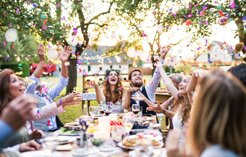 Lunch, Dinners, Hochzeitsfeiern, Familienfeiern und mehr- Nitteler Hof Events