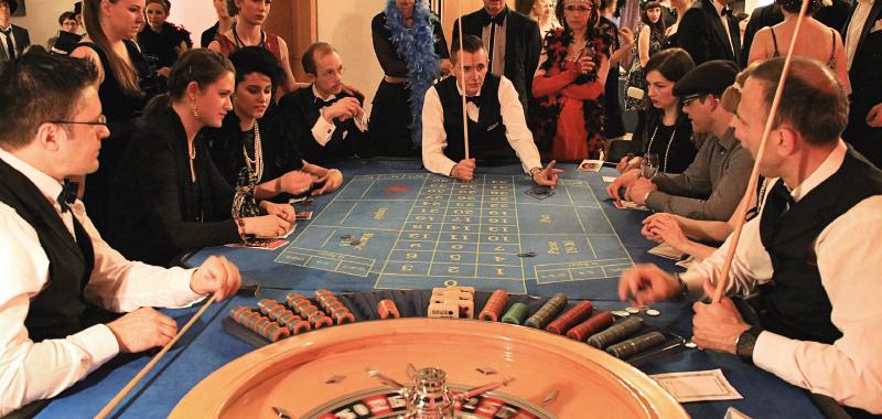 Zwanziger Jahre Casino Night - Themenabend - Nittler Hof Events